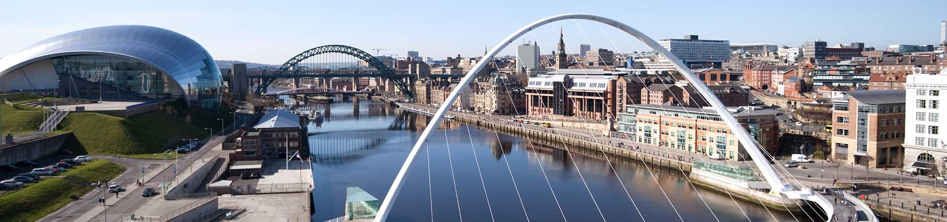 Gateshead Millennium Bridge, Newcastle