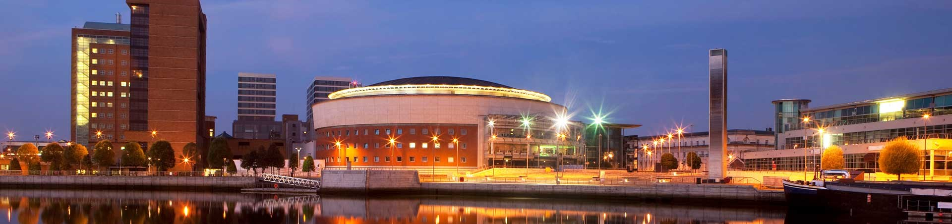 Waterfront Hall, Belfast, Northern Ireland