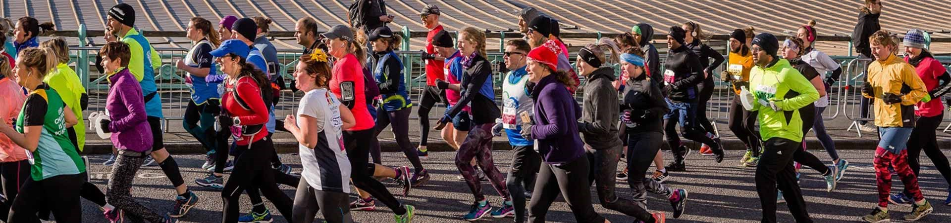 Get involved with the Grand Brighton Half Marathon with National Express