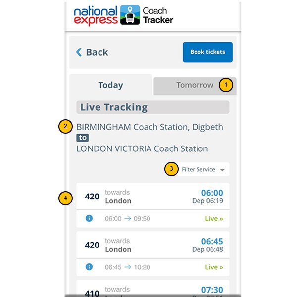 Track Your Coach | National Express
