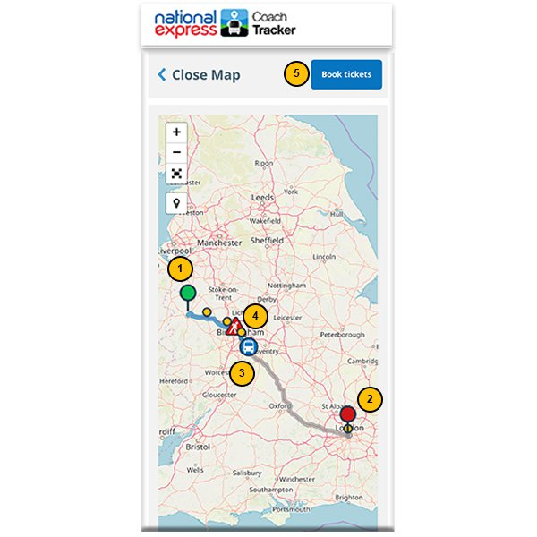 Track Your Coach   National Express