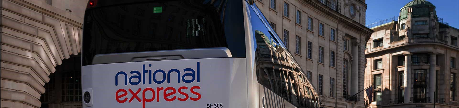 Travel by coach with National Express